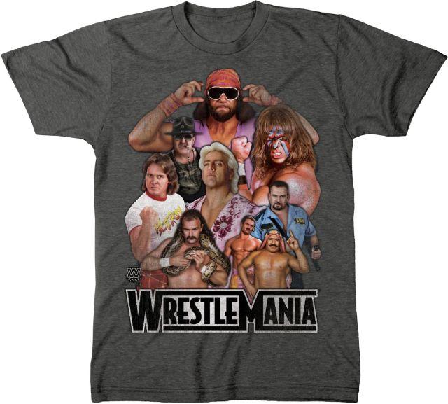 WrestleMania Legends