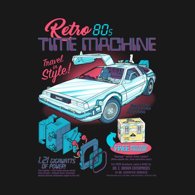 Retro 80s Time Machine