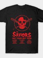 The Saviors: Half your Shit Tour T-Shirt
