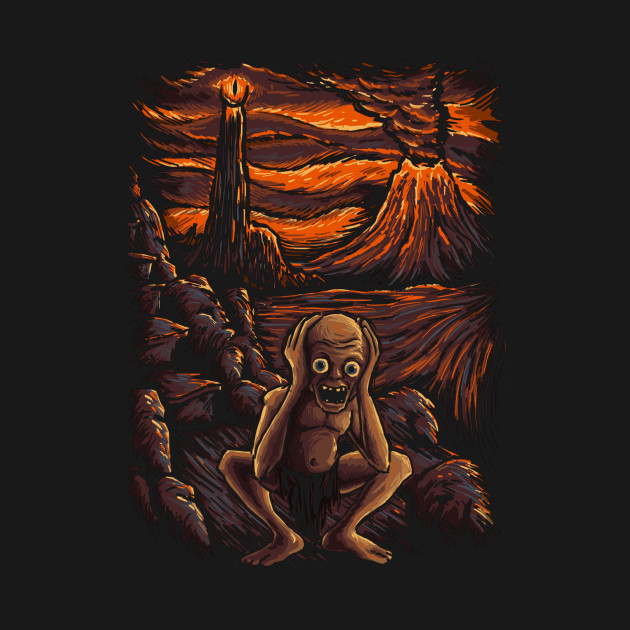 The Scream in Mordor