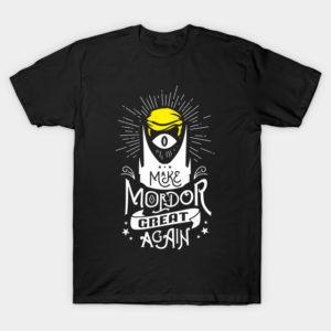 Trump says Make Mordor Great Again