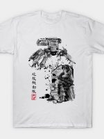 Major vs Tank sumi-e T-Shirt