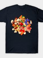 Mighty Gaming Rangers T-Shirt