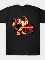 Siberian Bear Wrestling T-Shirt