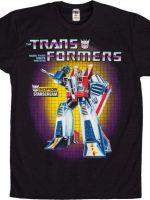Transformers Box Art Starscream T-Shirt