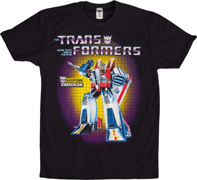 Transformers Box Art Starscream