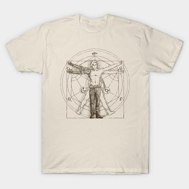 f1f0ca96acc Vitruvian Alchemist T-Shirt · FULLMETAL GYM