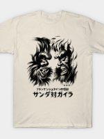 Waterbrushed Battling Giants T-Shirt