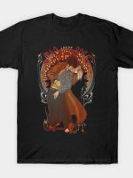Who Loves Rose - Art Nouveau T-Shirt