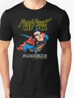 Post-Punk Comics - Super Mouth Strikes Again T-Shirt