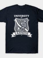 University of laziness T-Shirt