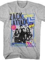 Zack Attack Live Saved By The Bell T-Shirt