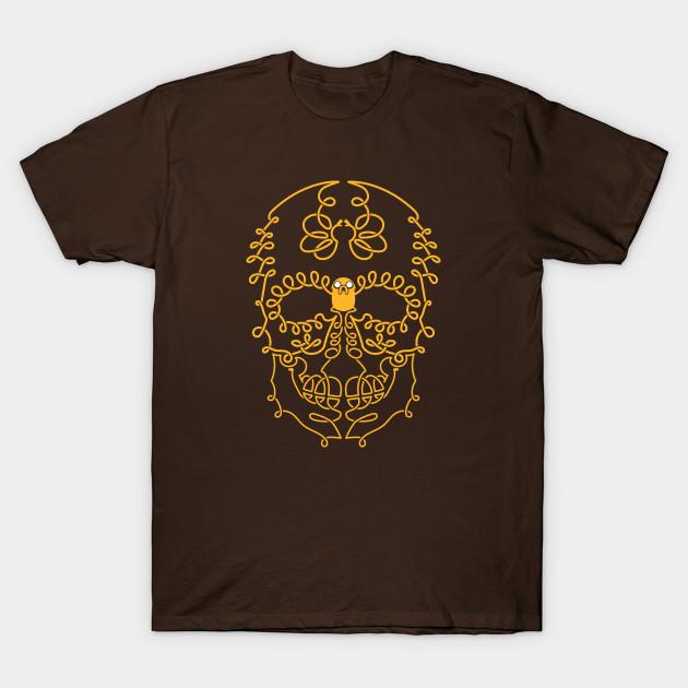 Adventure Time Jake Skull Day of the Dead Sugar Skull