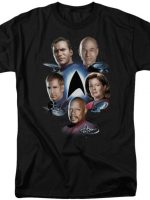 Captains Star Trek T-Shirt