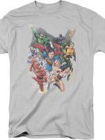 Ivan Reis Justice League T-Shirt
