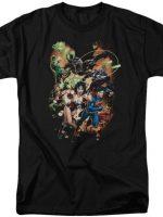 Jim Lee Justice League T-Shirt