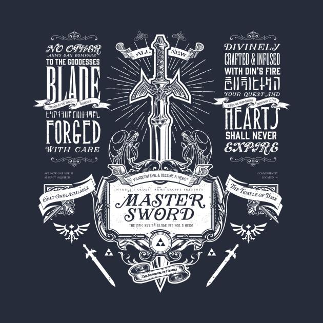 Master Sword Vintage Advertisement