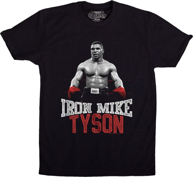 the baddest man on the planet iron mike tyson t shirt. Black Bedroom Furniture Sets. Home Design Ideas