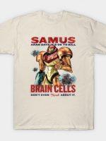 Retro Metroid Propaganda Samus Says T-Shirt