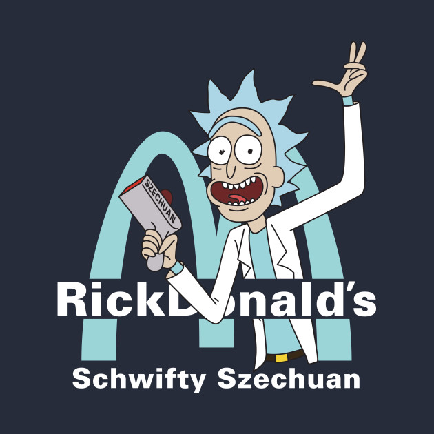 Rickdonalds Rick & Morty Szechuan