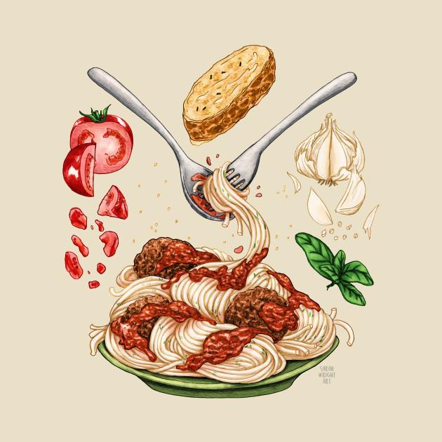 Spaghetti Mandala