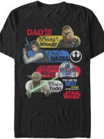 Star Wars Father's Day T-Shirt