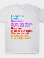 TMNT Helvetica T-Shirt