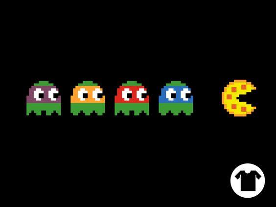 TMNT PacMan by Carl Huber