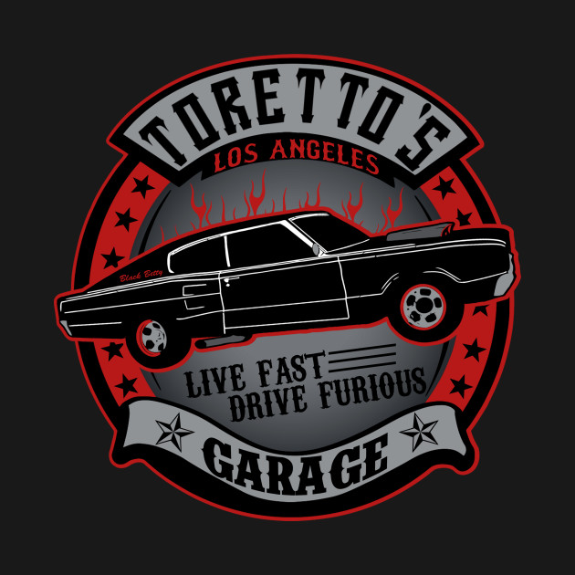 Dom Garage The Fast And The Furious T Shirt The Shirt List
