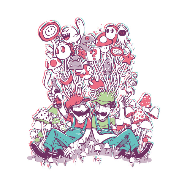 Mushrooms party