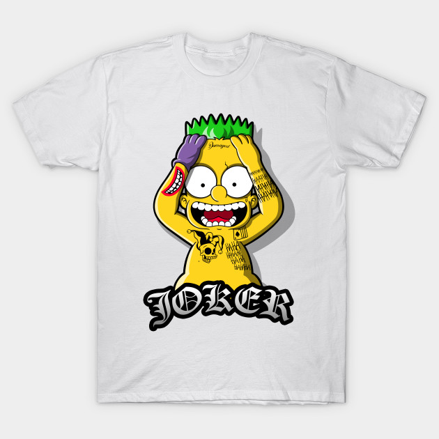 Suicide Bart The Simpsons T Shirt The Shirt List