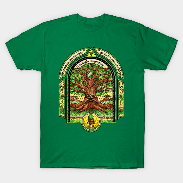 Great deku tree legend of zelda t shirt the shirt list The great t shirt