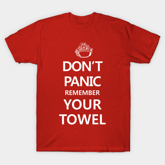 guide to the galaxy don t panic