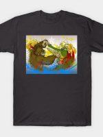 Donkey Kong Battle for Bananas T-Shirt