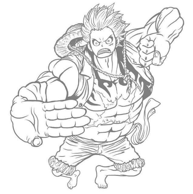 Gear 4 Luffy WIP