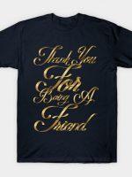 Golden Friends T-Shirt