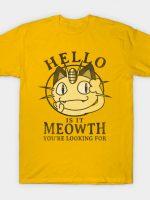 Meowth T-Shirt