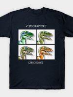 Velociraptors T-Shirt
