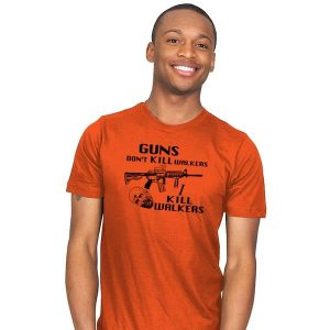 Guns Don't Kill Walkers T-Shirt