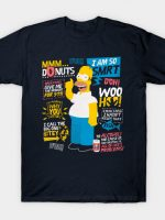 Homer Simpson Quotes T-Shirt