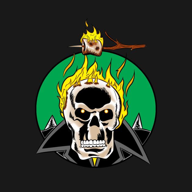 Roast Rider A Ghost Rider T Shirt The Shirt List