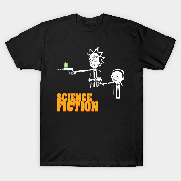 Science Fiction Rick And Morty T Shirt The Shirt List
