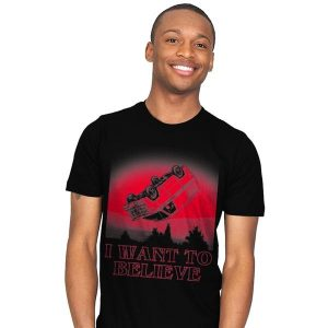 I Want To Believe Strange Things T-Shirt