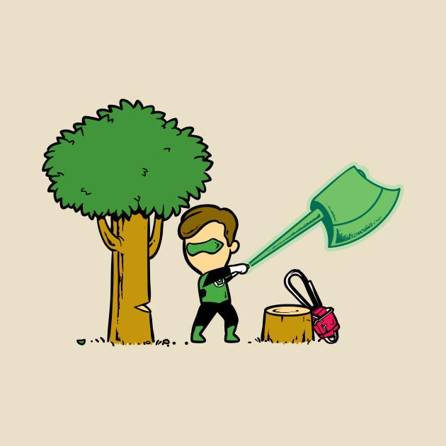 Part Time Job - Lumberjack