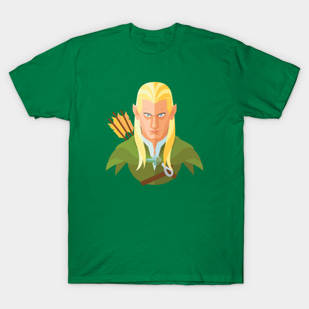 The Lord Of The Rings Legolas T Shirt The Shirt List