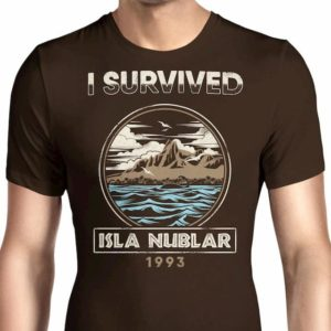 I Survived Isla Nublar T-Shirt