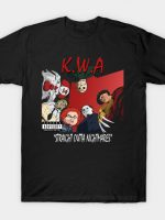 Killers With Attitude: Straight Outta Nightmares T-Shirt