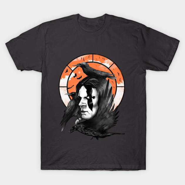 Neo noir superhero the crow t shirt the shirt list for Film noir t shirts