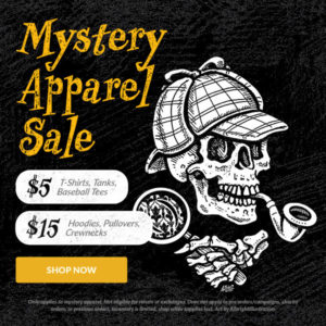 $5 Mystery T-Shirts at Design by Humans