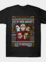An Ugly Slasher Sweater T-Shirt